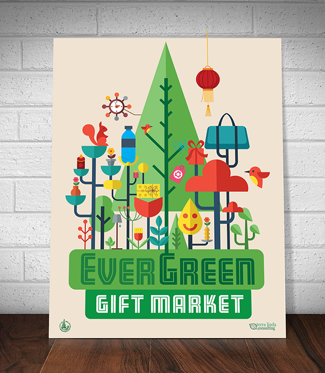 Evwergreen Market Poster Background 640